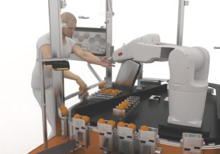 B&R acopostrak human robot