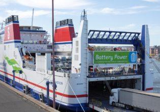 Stena Line Battery powered ferry