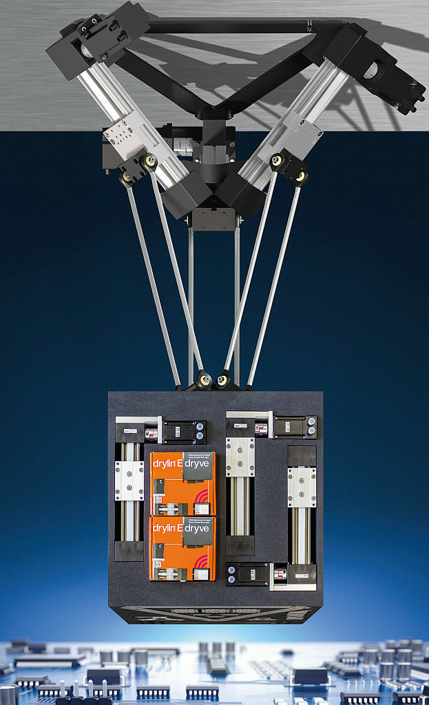 delta-robot bouwset Igus