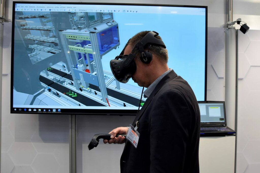 VR AR Festo Hannover Messe