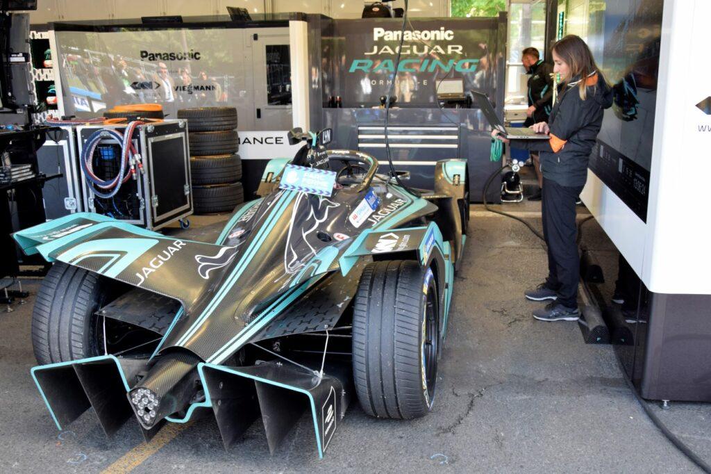 ABB Formula E Jaguar Paris 2019