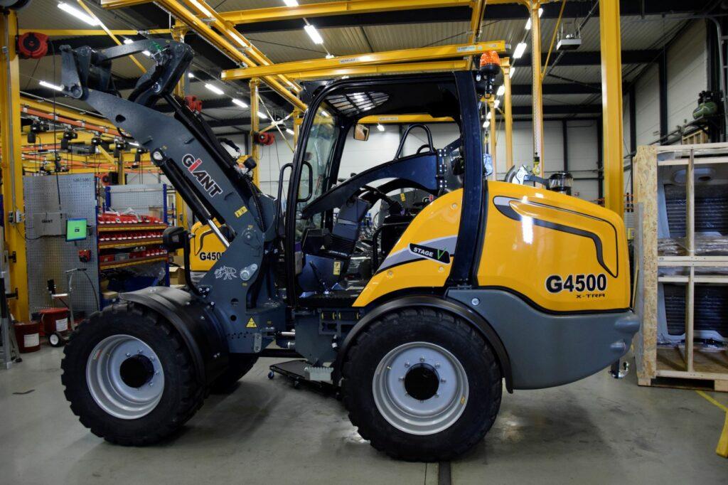 Tobroco Giant G4500 bosch rexroth hydraulics