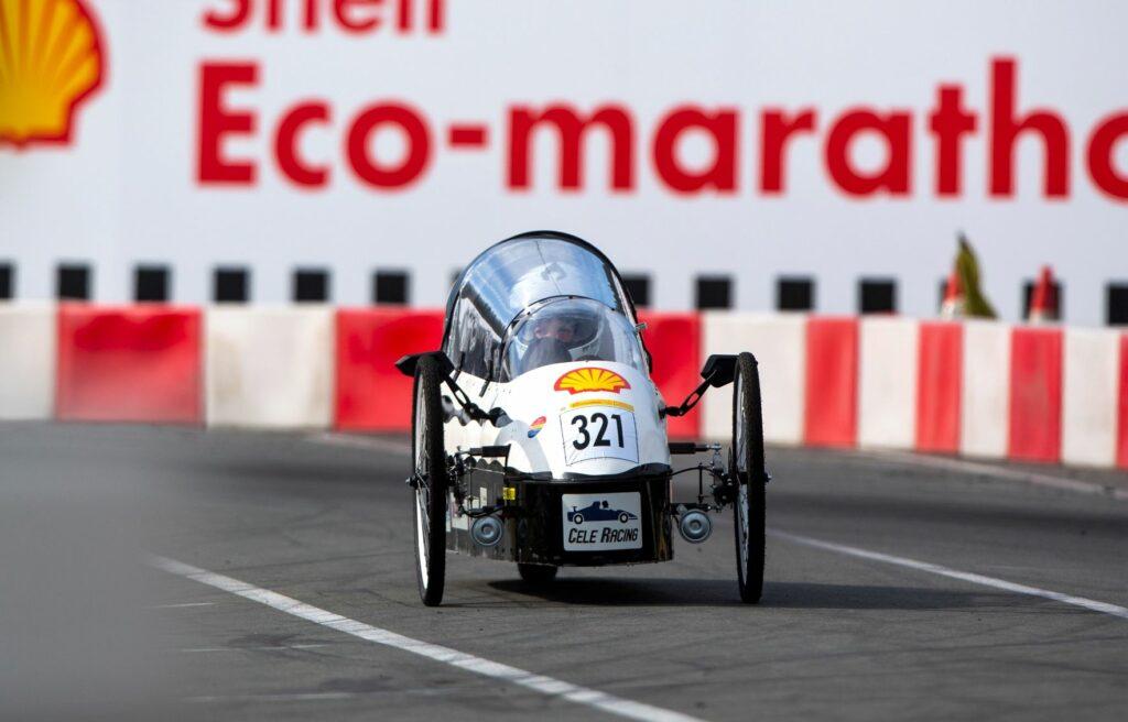 Cele race team Shell eco marathon
