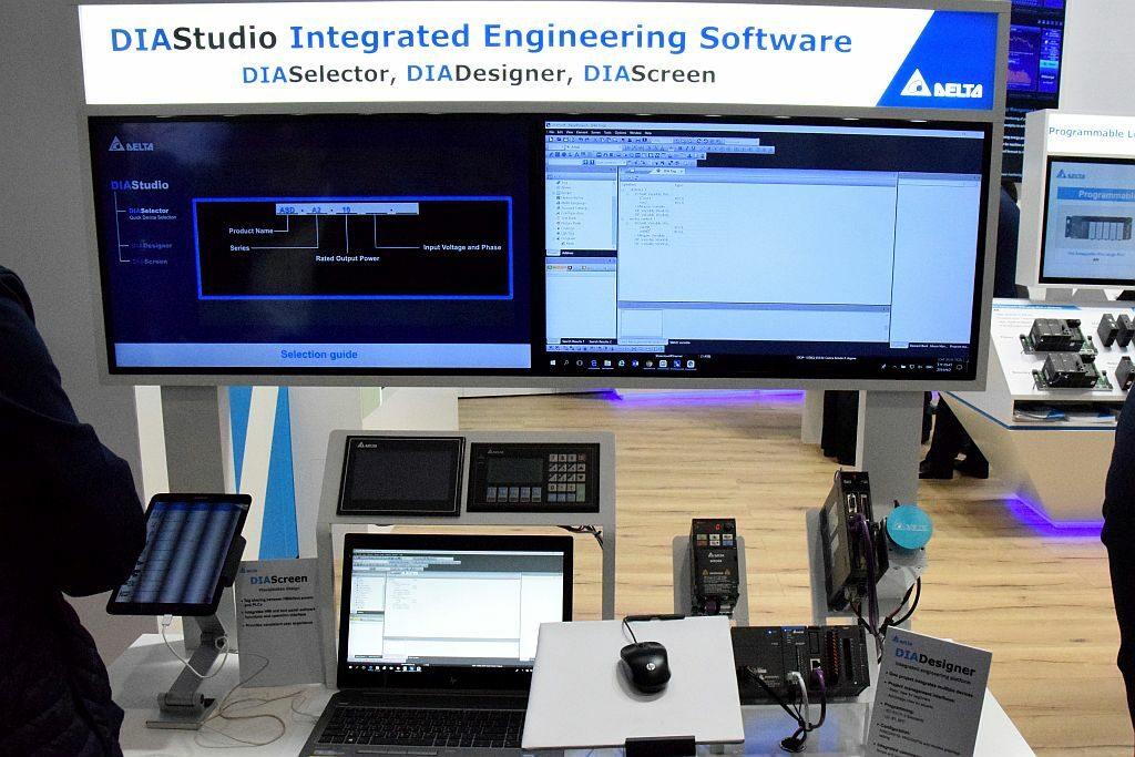 Delta DIA software