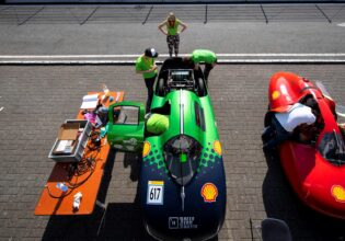 Shell eco marathon Green team twente Avrens beta