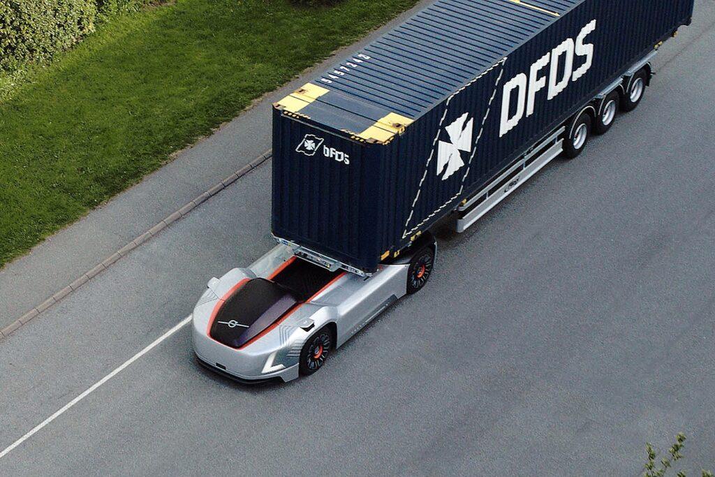 Volvo Vera autonoom transport DFDS