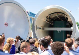 Hardt, Hyperloop, baanwissel