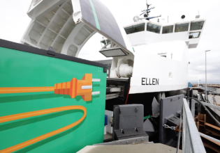 e-Ferry Ellen electric propulsion