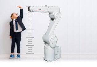 Mitsubishi knikarmrobot