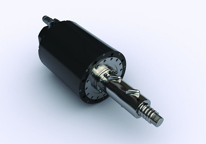 Sangalli servomotor met kogelomloopspindel