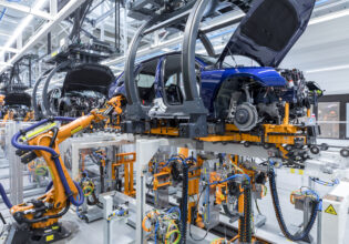 Audi 5G productie veiliger safety