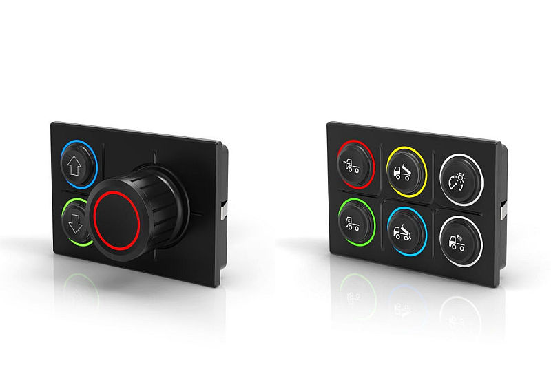 EAO Rugged CAN displays