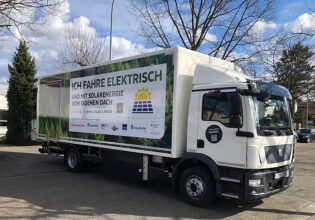 zonnepanelen bedrijfswagens