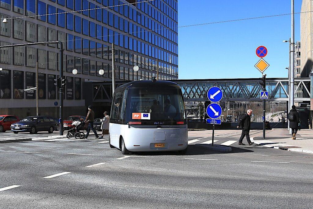 Fabolous robotbus Helsinki