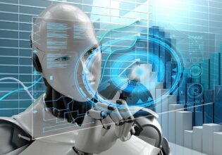 digitalisering en robot