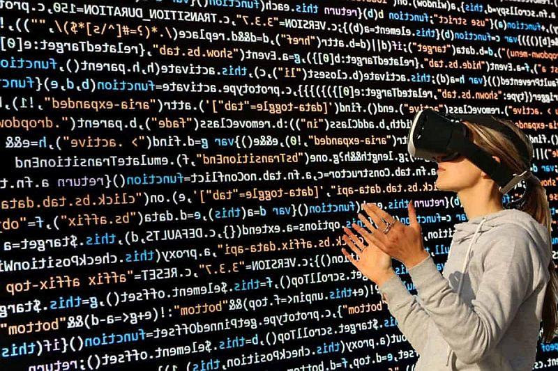 digitalisering en virtual reality
