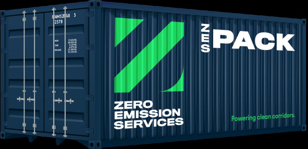 ZESpack container binnenvaart elektrisch