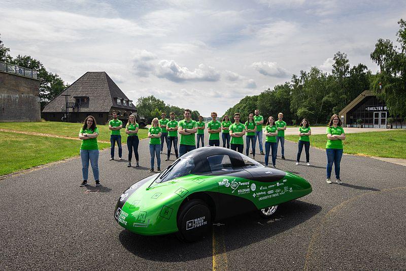 Green Team Twente waterstofauto