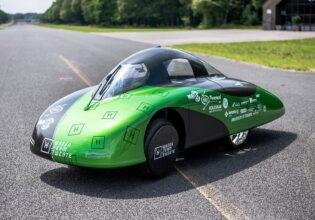 waterstofauto Green Team Twente