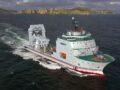 Huisman apparatuur voorreddingsschip