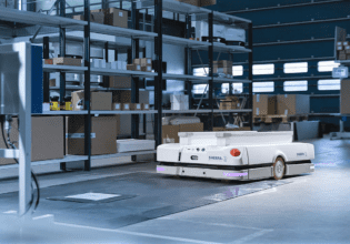 Sherpa mobile robots induction