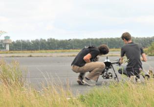 Unmanned valley Valkenburg drone testing