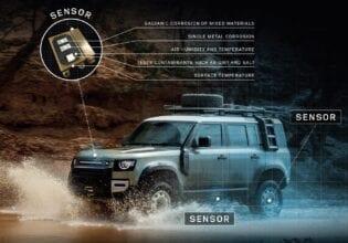 Land rover sensoren