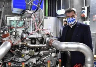 Markus Söder MAN hydrogen