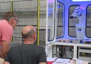 veilig werken met robots