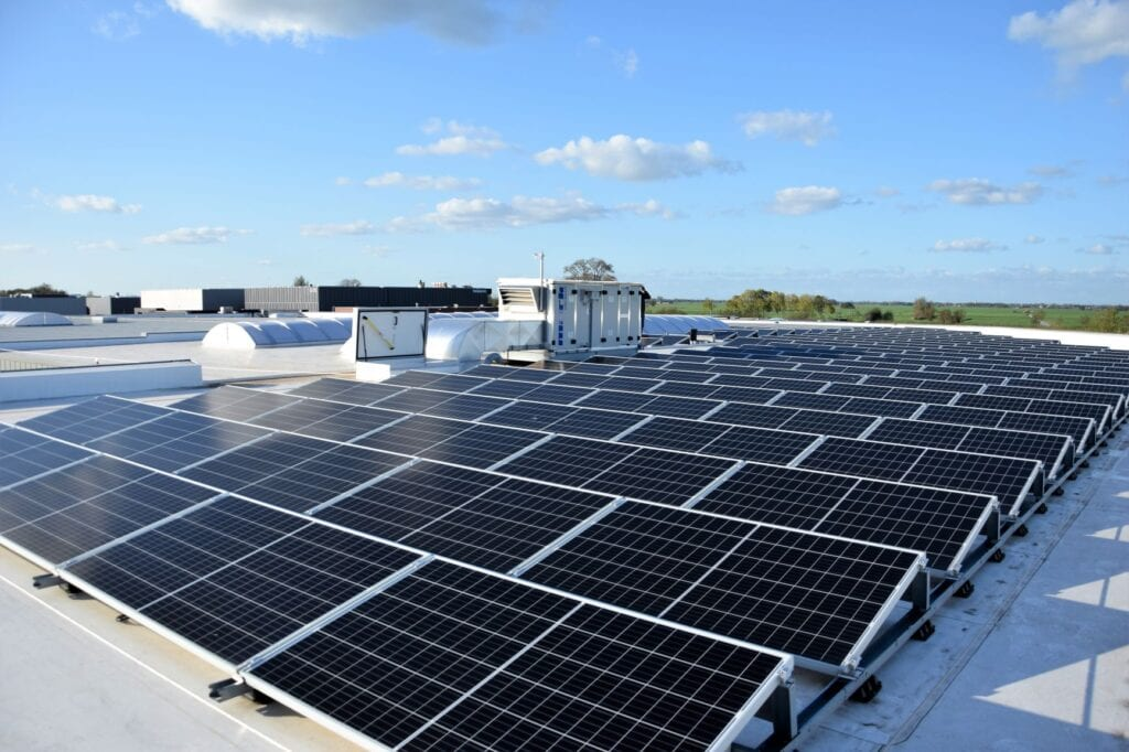 VSE roof solarpanels