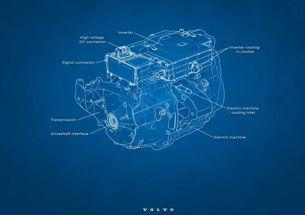 Volvo Electric motor Shanghai