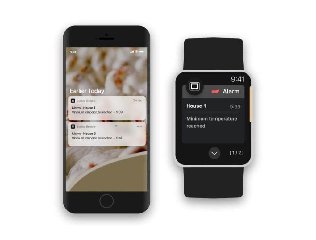 IXON Hotraco SyslinQ app