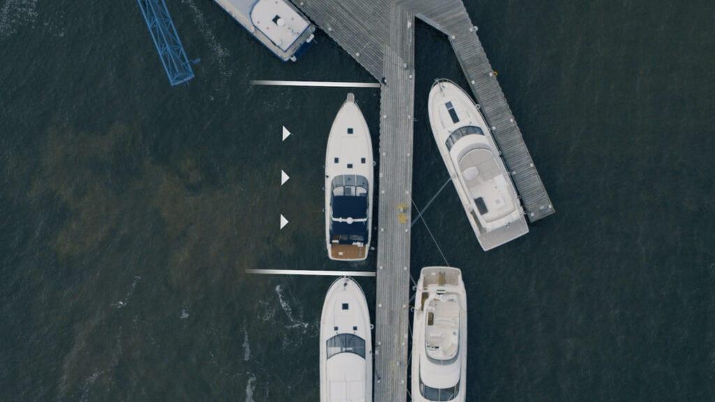 Volvo Penta docking system