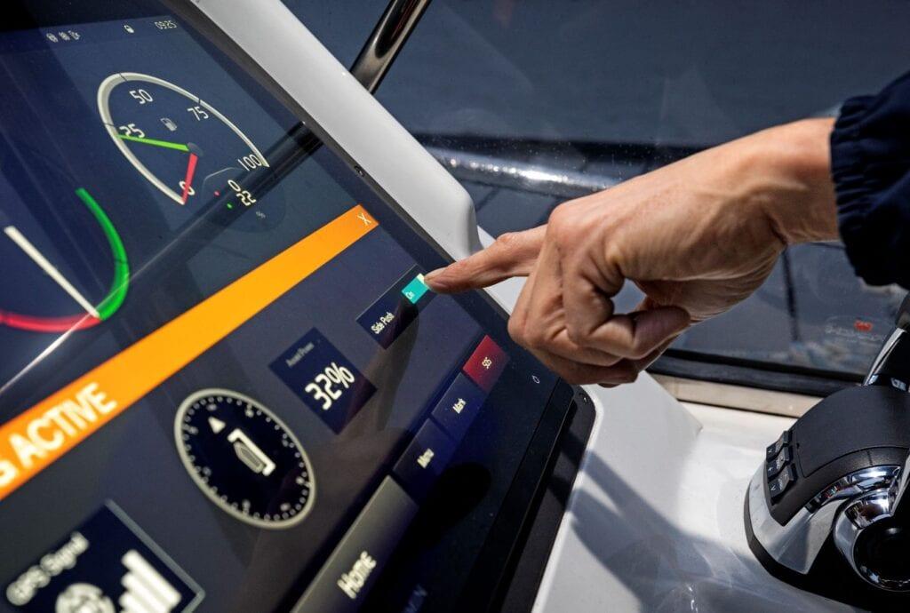 Volvo Penta side push docking