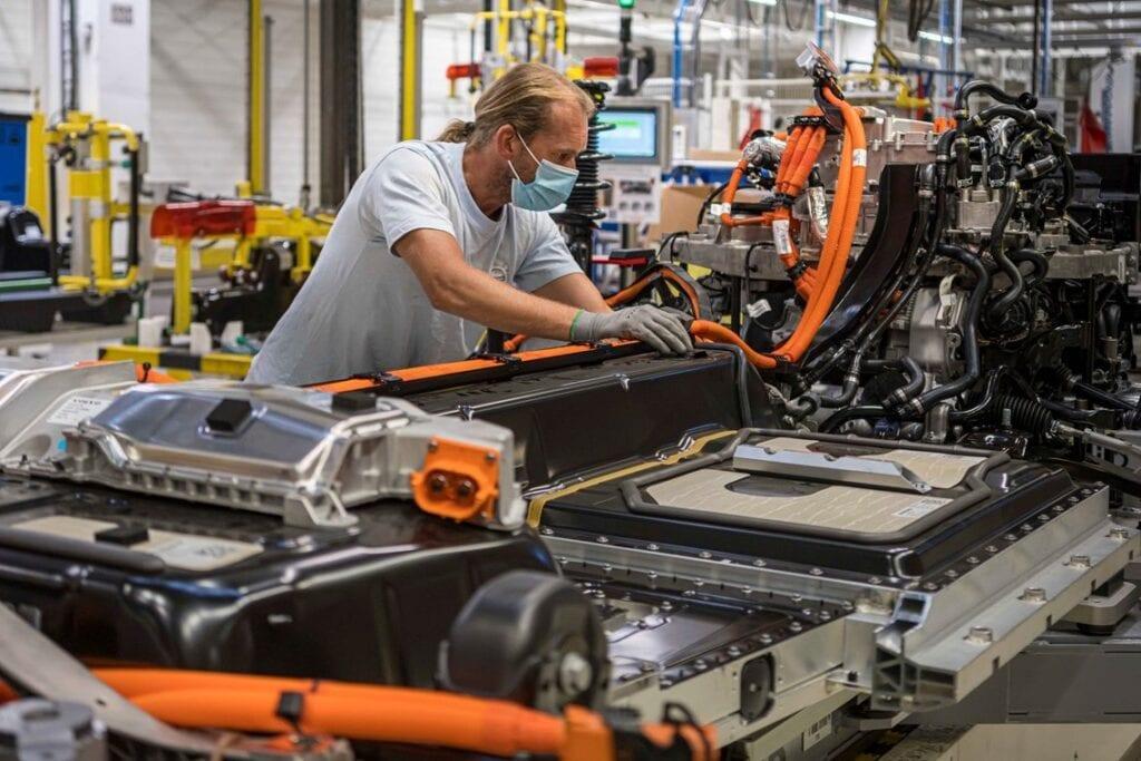 Volvo Gent elektrification EV