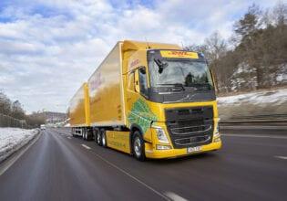 Volvo trucks DHL