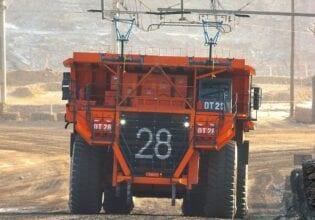 Hitachi Construction machinery ABB trolley mines