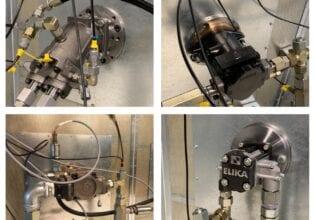 Innas benchmark test hydraulic pumps