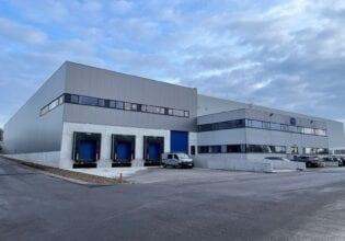 WEG Benelux warehouse