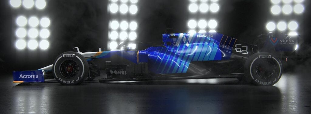 Williams Livery 2021 B&R