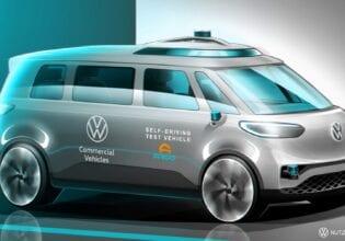 VW ID.buzz autonomous