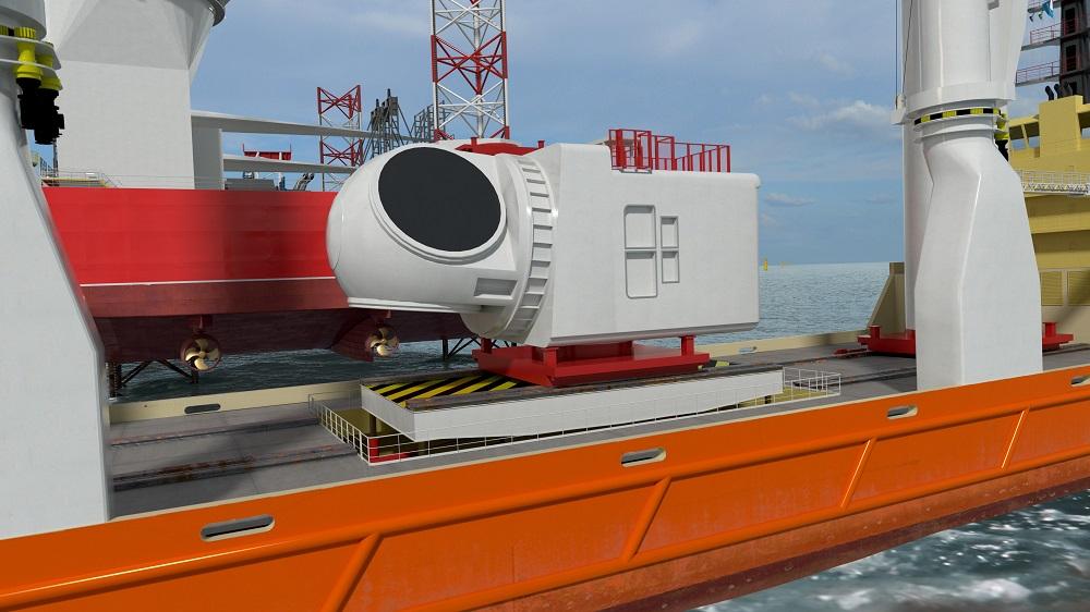 Huisman platform offshore