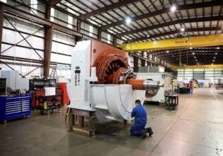 Sulzer reparatie HV-motor 1