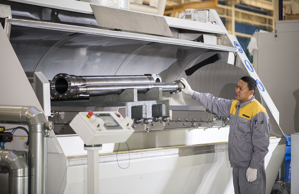 Liebherr Hydraulic cylinders Dalian wash