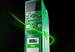 Nidec H300 HVAC Control techniques
