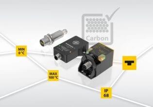 Turck Carbon-Sensor Bi5U-EM18H-AP6X2-H1141 S395; Bi20C-QR20-VP6X2-H1141; Ni40C-CK40-VP6X2-H1141; IP68;Min 0°C; Max 100 °C