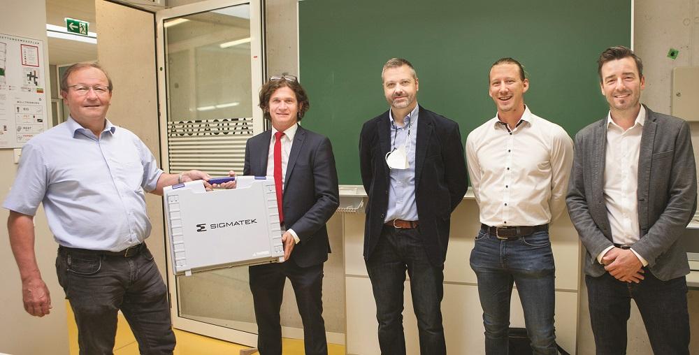 Sigmatek support HTL Salzburg