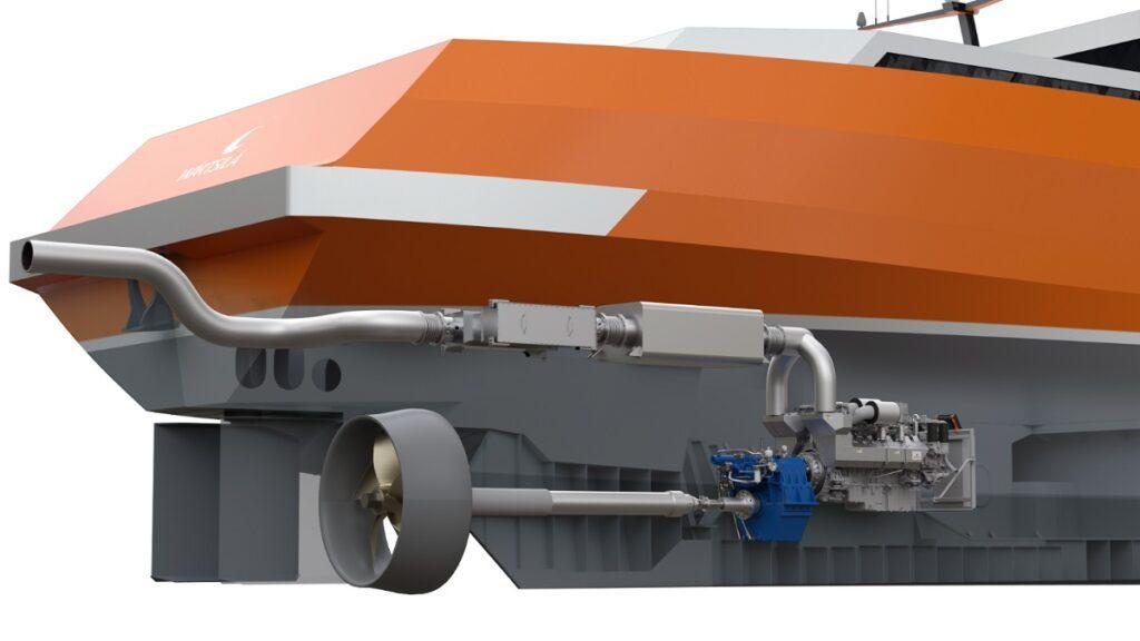 Wärtsilä 14 engine