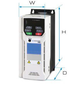 De compacte FDD frequentieomvormers worden gebruikt in motion toepassingen op het gebied van bijvoorbeeld transportbanden, extruders, ventilatoren en pompen