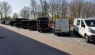 Parkeerplaatsen bij ROVC Ede